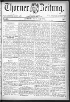 Thorner Zeitung 1877, Nro. 215