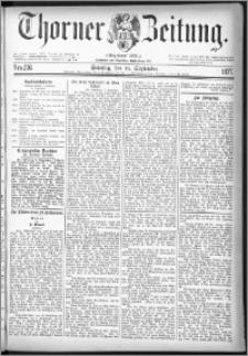 Thorner Zeitung 1877, Nro. 216 + Beilage