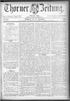 Thorner Zeitung 1877, Nro. 218