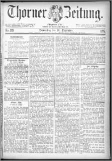 Thorner Zeitung 1877, Nro. 219