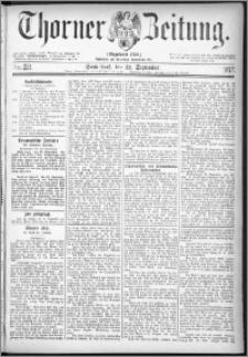 Thorner Zeitung 1877, Nro. 221