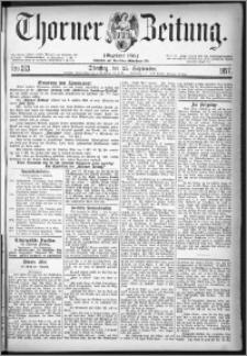 Thorner Zeitung 1877, Nro. 223