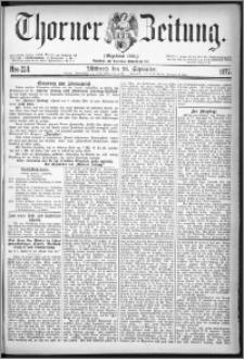 Thorner Zeitung 1877, Nro. 224