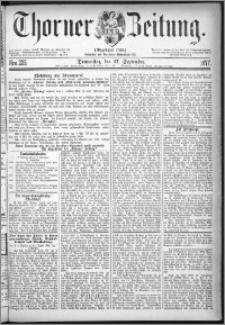 Thorner Zeitung 1877, Nro. 225