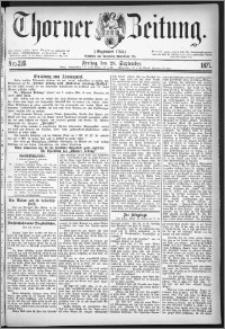 Thorner Zeitung 1877, Nro. 226