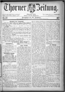 Thorner Zeitung 1877, Nro. 227