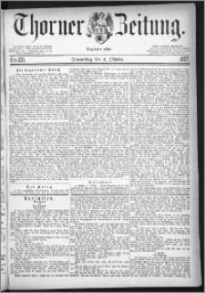 Thorner Zeitung 1877, Nro. 231
