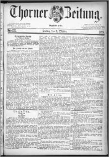 Thorner Zeitung 1877, Nro. 232