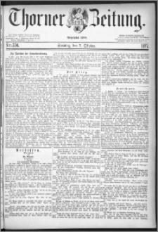 Thorner Zeitung 1877, Nro. 234 + Beilage