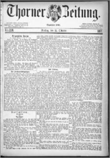 Thorner Zeitung 1877, Nro. 238