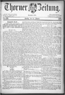 Thorner Zeitung 1877, Nro. 239