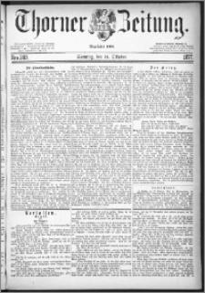 Thorner Zeitung 1877, Nro. 240 + Beilage