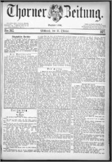 Thorner Zeitung 1877, Nro. 242
