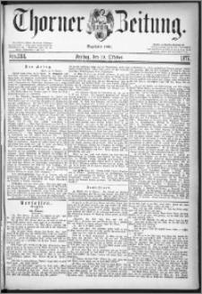 Thorner Zeitung 1877, Nro. 244