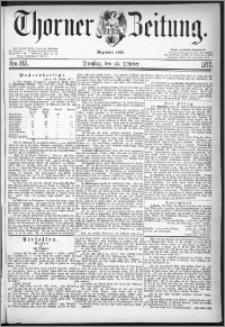 Thorner Zeitung 1877, Nro. 247