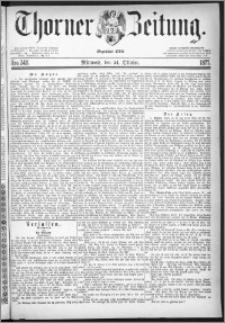 Thorner Zeitung 1877, Nro. 248