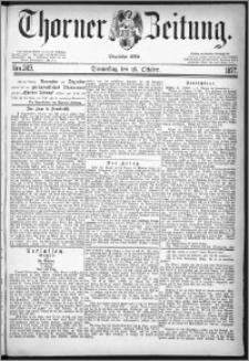 Thorner Zeitung 1877, Nro. 249