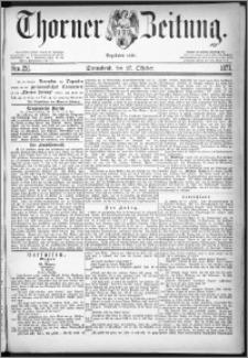 Thorner Zeitung 1877, Nro. 251