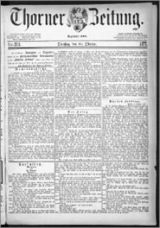 Thorner Zeitung 1877, Nro. 253
