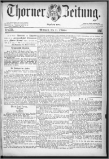 Thorner Zeitung 1877, Nro. 254