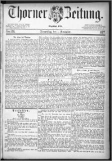 Thorner Zeitung 1877, Nro. 255