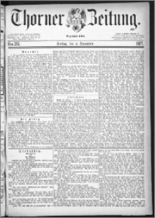 Thorner Zeitung 1877, Nro. 256