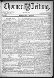 Thorner Zeitung 1877, Nro. 257
