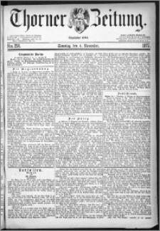 Thorner Zeitung 1877, Nro. 258 + Beilage