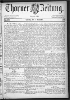Thorner Zeitung 1877, Nro. 259