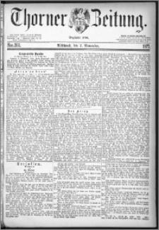 Thorner Zeitung 1877, Nro. 260