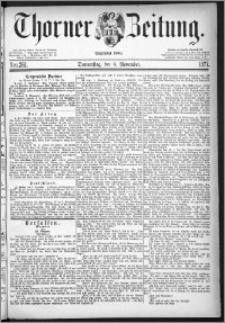 Thorner Zeitung 1877, Nro. 261