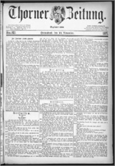 Thorner Zeitung 1877, Nro. 263