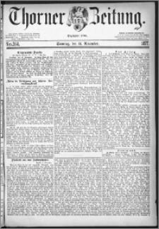 Thorner Zeitung 1877, Nro. 264 + Beilage