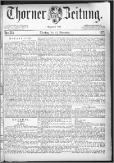Thorner Zeitung 1877, Nro. 265