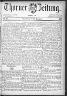 Thorner Zeitung 1877, Nro. 267