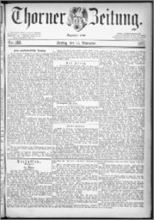 Thorner Zeitung 1877, Nro. 268