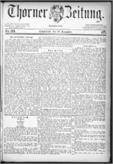 Thorner Zeitung 1877, Nro. 269