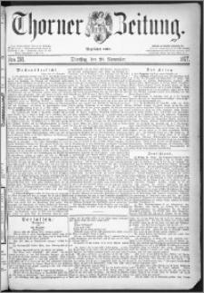 Thorner Zeitung 1877, Nro. 271 + Extra Beilage
