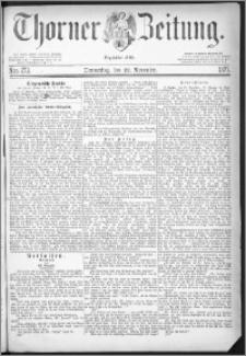 Thorner Zeitung 1877, Nro. 273