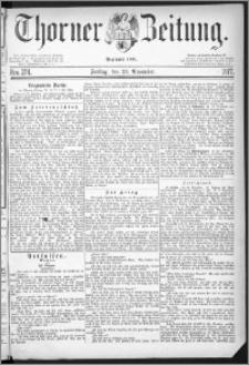 Thorner Zeitung 1877, Nro. 274