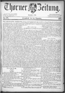Thorner Zeitung 1877, Nro. 275