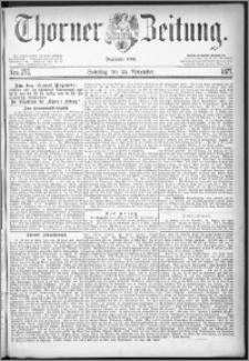 Thorner Zeitung 1877, Nro. 276 + Beilage