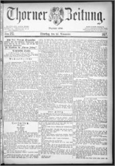 Thorner Zeitung 1877, Nro. 277
