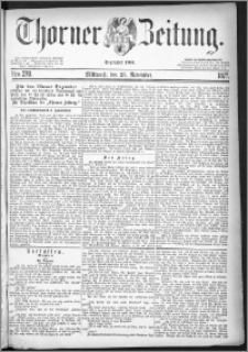Thorner Zeitung 1877, Nro. 278