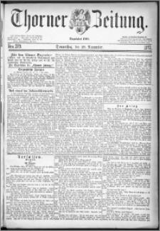 Thorner Zeitung 1877, Nro. 279