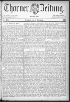 Thorner Zeitung 1877, Nro. 282 + Beilage
