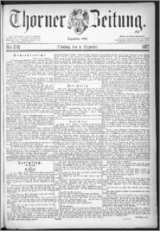 Thorner Zeitung 1877, Nro. 283