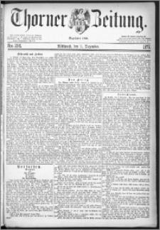 Thorner Zeitung 1877, Nro. 284