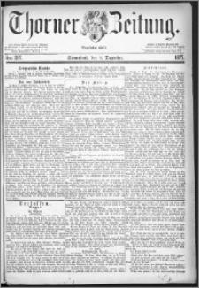 Thorner Zeitung 1877, Nro. 287