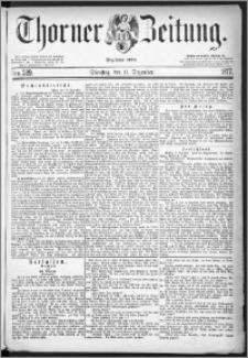 Thorner Zeitung 1877, Nro. 289